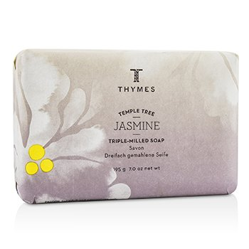 Thymes Temple Tree Jasmine Triple Milled Soap  195g/7oz