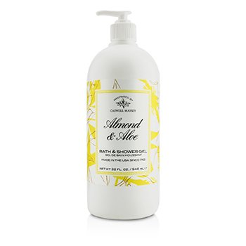 Caswell Massey Almond & Aloe Gel Ducha & Baño  946ml/32oz