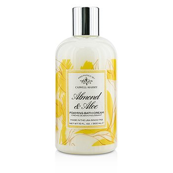Caswell Massey Almond & Aloe Foaming Bath Cream - Perawatan Badan  300ml/10oz