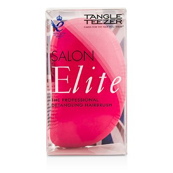 Tangle Teezer Salon Elite Cepillo Desenredante Profesional - # Dolly Pink (Para Cabello H�medo & Seco)  1pc