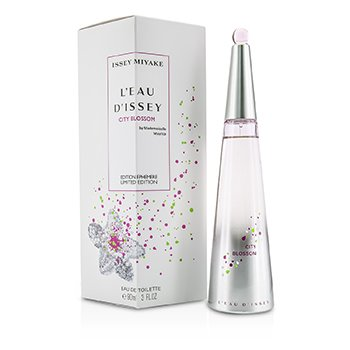 Issey Miyake L'Eau D'Issey City Blossom Eau De Toilette Spray (2015 Limited Edition)  90ml/3oz