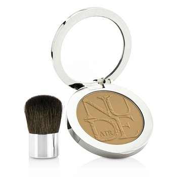Christian Dior Diorskin Nude Air Healthy Glow Invisible Powder (With Kabuki Brush) - # 040 Honey Beige  10g/0.35oz