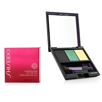 Shiseido Sombra Luminizing Satin Eye Color Trio - # GR716 Vinyl  3g/0.1oz