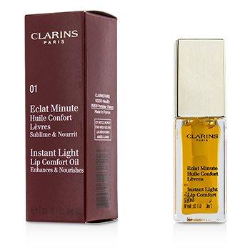Clarins Eclat Minute Instant Light Lip Comfort Oil - # 01 Honey  7ml/0.1oz