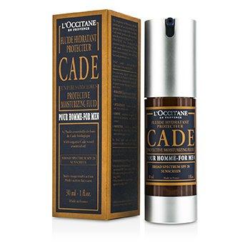 L'Occitane Cade For Men Ochranné hydratační tekuté široké spektrum SPF 20 ochrana proti slunci  30ml/1oz