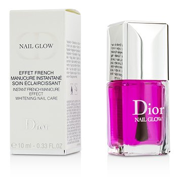 Christian Dior Nail Glow (Instant French Manicure Effect Whitening Nail Care)  10ml/0.33oz