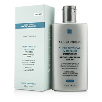 Skin Ceuticals Defensa UV Trasl�cida SPF 50 -Tama�o Edici�n Limitada  125ml/4.2oz