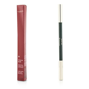 Clarins Long Lasting Eye Pencil with Brush - # 09 Intense Green  1.05g/0.037oz