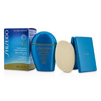 Shiseido UV Protective Liquid Foundation SPF42 - # Light Ivory  30ml/1oz