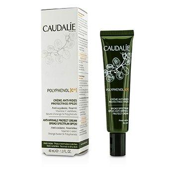 Caudalie Polyphenol C15 Anti-Wrinkle Protect Cream Broad Spectrum SPF 20 (Normal to Dry Skin)  40ml/1.3oz