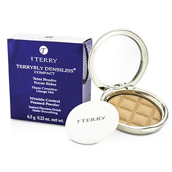 By Terry Terrybly Densiliss Compact (Wrinkle Control Pressed Powder) - # 6 Amber Beige  6.5g/0.23oz