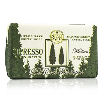 Nesti Dante Dei Colli Florentini Triple Milled Vegetal Soap - Cypress Tea - Sabun Mandi  250g/8.8oz