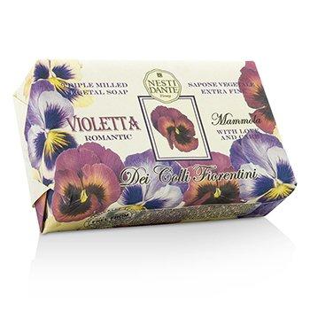 Nesti Dante Dei Colli Fiorentini Üç Kez Öğütülmüş Bitkisel Sabun - Tatlı Menekşe  250g/8.8oz