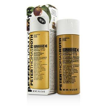 פיטר תומס רות' Camu Camu Power Cx30 Vitamin C Brightening Cleansing Powder - פודרה ניקוי והבהרה  74g/2.6oz