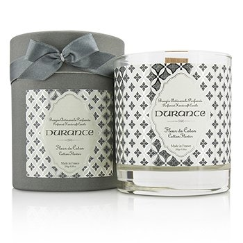 Durance Świeca zapachowa Perfumed Handcraft Candle - Cotton Flower  280g/9.88oz