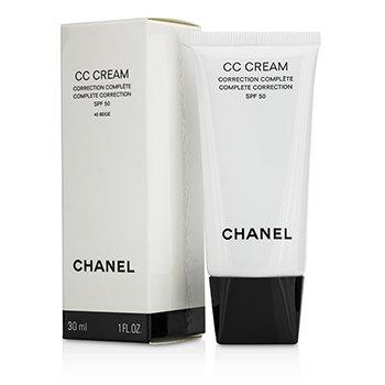 Chanel CC Cream Complete Correction SPF 50/PA++++ # 40 Beige  30ml/1oz