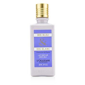 L'Occitane Iris Bleu & Iris Blanc Leche Corporal  250ml/8.4oz
