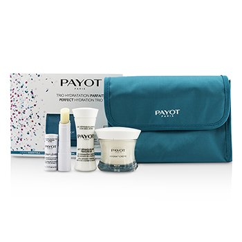 Payot Perfect Hydration Set de Viaje : Leche Limpiadora 30ml + Crema 50ml + Bálsamo Labios 4g + Bolsa  3pcs + 1bag