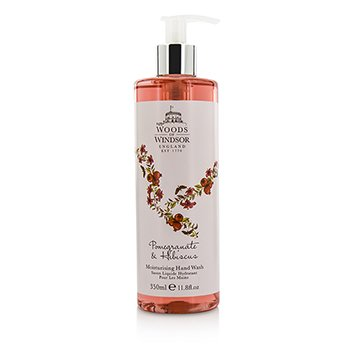 Woods Of Windsor Pomegranate & Hibiscus Limpiador Humectante Para Manos  350ml/11.8oz