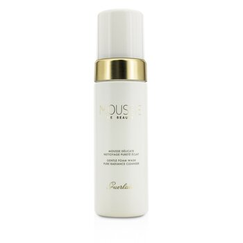 Guerlain Pure Radiance Cleanser - Mousse De Beaute Limpiador Espuma Suave  150ml/5oz