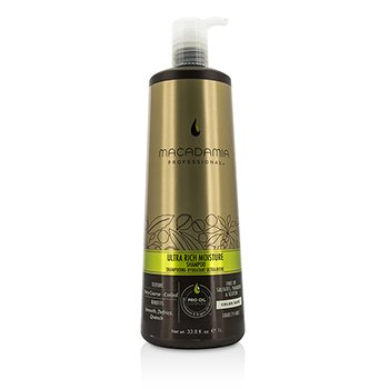 Macadamia Natural Oil Professional Ultra Rich Moisture Champú  1000ml/33.8oz