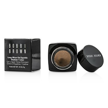 Bobbi Brown Long Wear Gel Sparkle Shadow & Liner - #04 Sunlit Bronze  4g/0.12oz