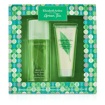 Elizabeth Arden Green Tea Coffret: Eau Parfumee Spray 100ml/3.3oz + Loción Corporal 100ml/3.3oz  2pcs