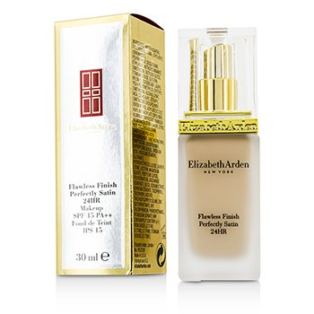Elizabeth Arden Flawless Finish Perfectly Satin 24HR Makeup SPF15 - #01 Alabaster  30ml/1oz