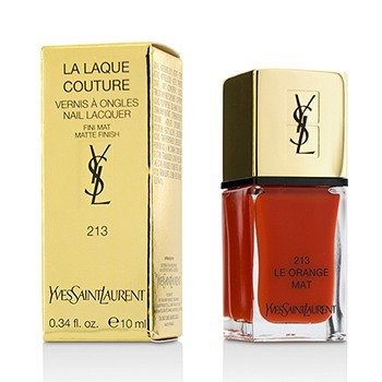 Yves Saint Laurent La Laque Couture Nail Lacquer The Mats - # 213 Le Orange Mat  10ml/0.34oz