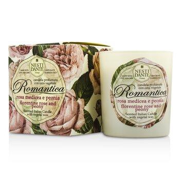 内斯蒂丹特  芳香意大利蜡烛 - Romantica Florentine Rose & Peony  160g/5.64oz