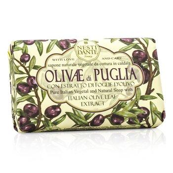 Nesti Dante Natural Soap With Italian Olive Leaf Extract  - Olivae Di Puglia  150g/3.5oz