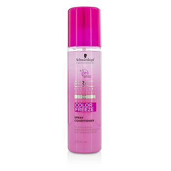 Schwarzkopf BC Color Freeze pH 4.5 Spray Acondicionador (Para Cabello Teñido)  200ml/6.7oz