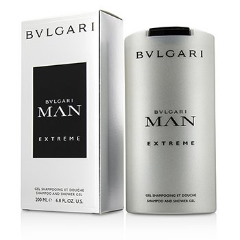 Bvlgari Żel pod prysznic i do kąpieli Man Extreme Shampoo & Shower Gel  200ml/6.8oz