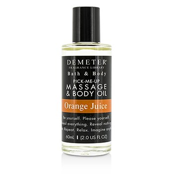 Demeter Orange Juice Massage & Body Oil  60ml/2oz