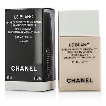 Chanel Le Blanc Light Creator Bază Strălucitoare de Machiaj SPF40 - #10 Rosee  30ml/1oz