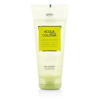 4711 Acqua Colonia Aroma Lima & Nuez Moscada Gel de Ducha  200ml/6.8oz
