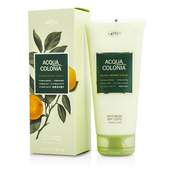 4711 Acqua Colonia Blood Orange & Basil Moisturizing Body Lotion  200ml/6.8oz