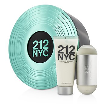 Carolina Herrera 212 NYC Coffret: Eau De Toilette Spray 60ml/2oz + Loci�n Corporal 100ml/3.4oz  2pcs