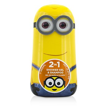 Air Val International Minions (Kevin) 2 In 1 Shower Gel & Shampoo  400ml/13.5oz