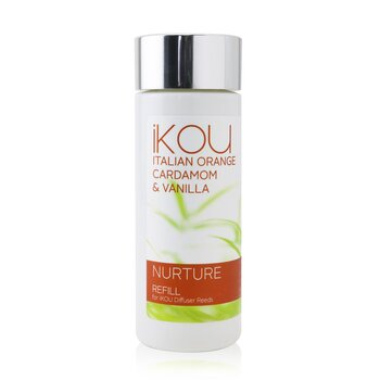 iKOU Diffuser Reeds Refill - Nurture (Italian Orange Cardamom & Vanilla)  125ml/4.22oz