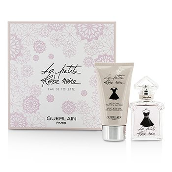 Guerlain La Petite Robe Noire Coffret: Eau De Toilette Spray 30ml/1oz + Body Milk 75ml/2.5oz  2pcs