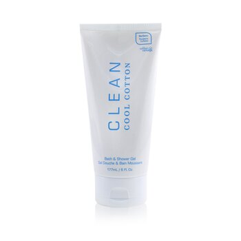 Clean Clean Cool Cotton Bath & Shower Gel  177ml/6oz