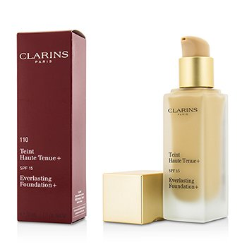 Clarins Everlasting Foundation+ SPF15 - # 110 Honey  30ml/1.1oz