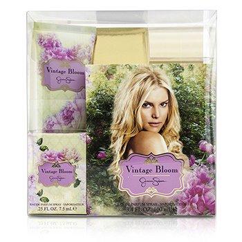 Jessica Simpson Vintage Bloom Coffret: Eau De Parfum Spray 100ml/3.4oz + Eau De Parfum Spray 7.5ml/0.25oz + Body Lotion 90ml/3oz  3pcs