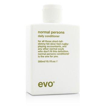 Evo Normal Persons Щоденний Кондиціонер (Для Всіх Типів Волосся, Особливо Нормального і Жирного Волосся)  300ml/10.1oz