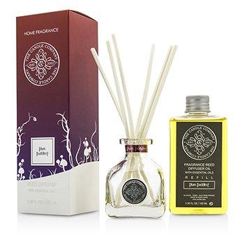 The Candle Company Difuzér aroma s esenciálními oleji - Plum Pudding  100ml/3.38oz