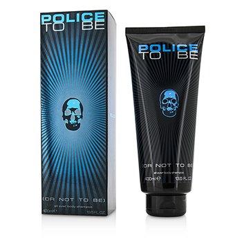 警察  存在洗发沐浴露  400ml/13.5oz