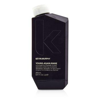 凯文墨菲  Young.Again.Rinse (Immortelle and Baobab Infused Restorative Softening Conditioner - To Dry, Brittle or Damaged Hair)  250ml/8.4oz