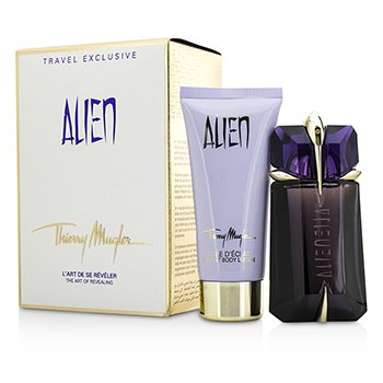 Thierry Mugler Alien Coffret: Eau De Parfum Repuestoable Spray 60ml/2oz + Loci�n Corporal 100ml/3.4oz  2pcs
