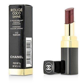 ชาแนล ลิปไชน์ Rouge Coco Shine Hydrating Colour Lipshine - # 112 Temeraire 173412  3g/0.1oz